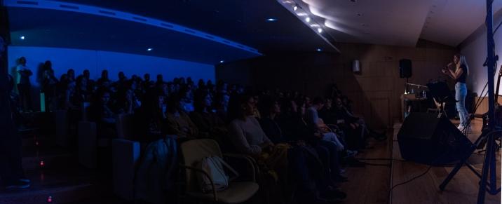 Fotografías do concerto de Laura LaMontagne, en Lugo en maio do 2019. [A.PALLON]