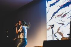 Fotograf'as do concerto de Laura LaMontagne, en Lugo en maio do 2019. [BELEN CORDERO]